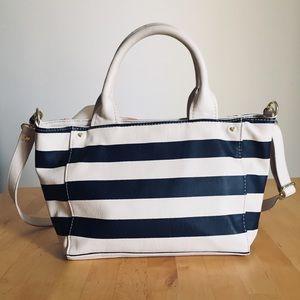 Betsey Johnson Bags - Betsey Johnson Striped Handbag